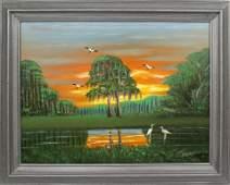 AL BLACK FLORIDA HIGHWAYMEN FIRESKY REFLECTIONS