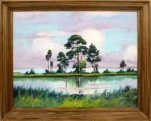 JAMES GIBSON FLORIDA HIGHWAYMEN PASTEL SKIES