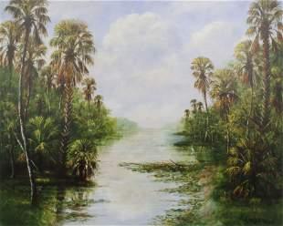 R.A. MCLENDON FLORIDA HIGHWAYMEN GICLEE