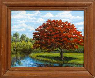 CAROLANN KNAPP POINCIANA REFLECTIONS