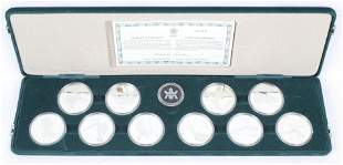 CANADIAN WINTER OLYMPICS COIN SET