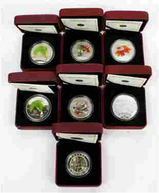 DEALERS LOT - ROYAL CANADIAN MINT SILVER COINS