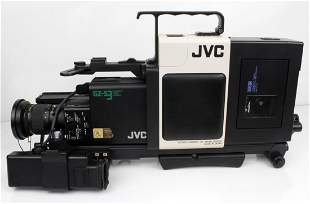 JVC VIDEO CAMERA AND EQUIPMENT PACKAGE