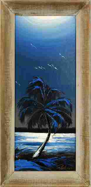JAMES GIBSON FLORIDA HIGHWAYMEN BLUE MONOCHROMATIC