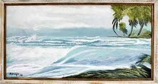 RODNEY DEMPS FLORIDA HIGHWAYMEN SEASCAPE GREENS
