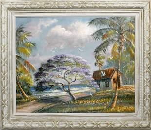 SAM NEWTON FLORIDA HIGHWAYMEN BEACHSIDE JACARANDA
