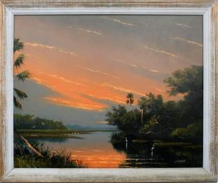 SAM NEWTON FLORIDA HIGHWAYMEN SALMON SKY
