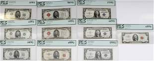 DEALERS LOT PCGS GRADED CURRENCY