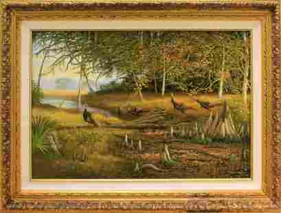 CHARLES WALKER FLORIDA HIGHWAYMEN TURKEY GICLEE