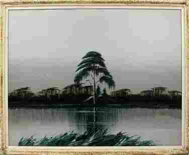 JAMES GIBSON FLORIDA HIGHWAYMEN GREEN MONOCHROME