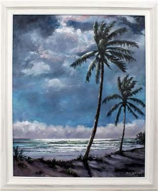NORMAN WRIGHT FLORIDA ARTIST RIO MAR