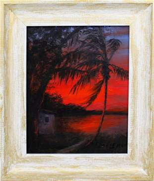ROY MCLENDON FLORIDA HIGHWAYMEN RED NIGHT
