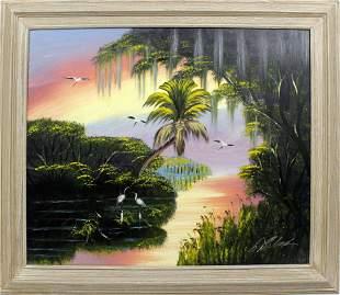 AL BLACK FLORIDA HIGHWAYMEN RAINBOW SKY
