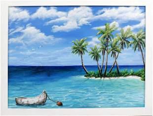 CAROLANN KNAPP FLORIDA ARTIST ISLAND VIBES