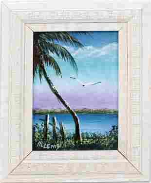 R.L. LEWIS FLORIDA HIGHWAYMEN TEAL TRANQUILITY