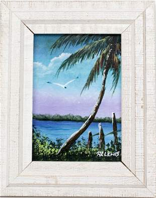 R.L. LEWIS FLORIDA HIGHWAYMEN TEAL TRANQUILITY 2