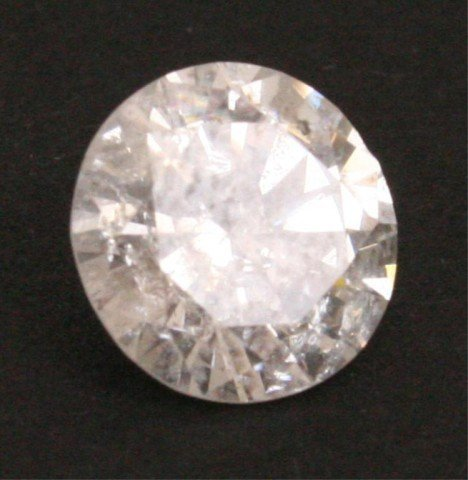 3.17ct ROUND CUT BRILLIANT LOOSE DIAMOND