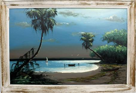 ALFRED HAIR FLORIDA HIGHWAYMEN MOONLIT SAIL