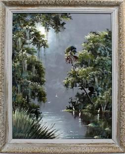 SAM NEWTON FLORIDA HIGHWAYMEN MOONLIT RIVER