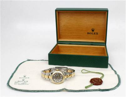LADIES ROLEX TWO TONE OYSTER REF 179173