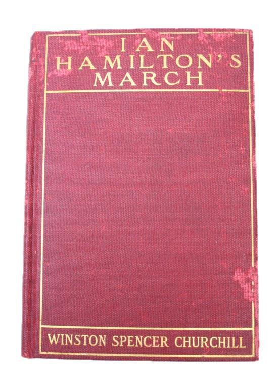 "1ST AMERICAN EDITION ""IAN HAMILTON'S MARCH"" CHURCH"