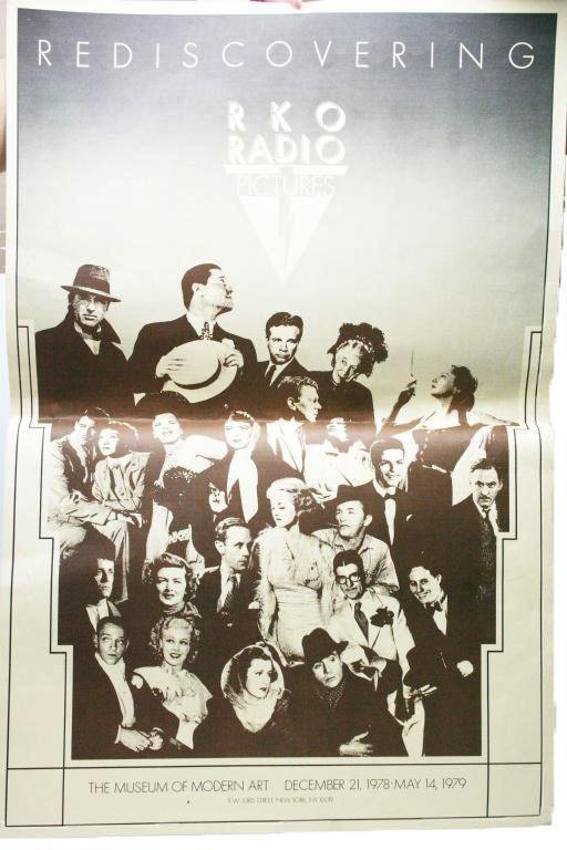 "2 SIDED RKO ADVERTISING POSTER DATED 1978 ""REDISCO"