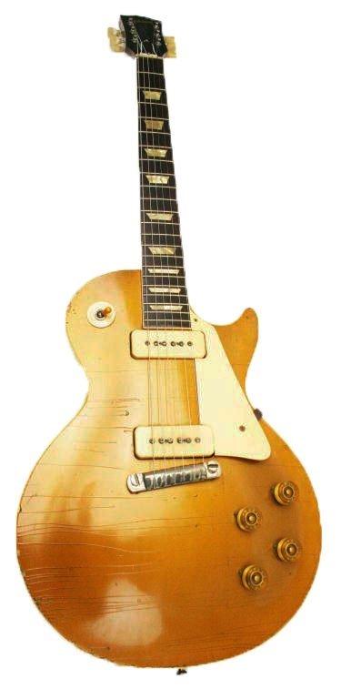 1954 GIBSON LES PAUL GOLD TOP GOLDTOP GUITAR #4 0720