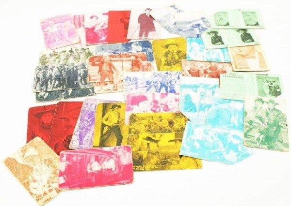LOT 37 VINTAGE MOVIE STAR PHOTO CARDS & POSTCARDS