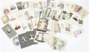 19TH & 20TH CENTURY CABINET PHOTOS & POSTCARDS