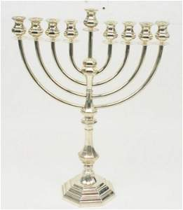 DISCONTINUED TIFFANY & CO STERLING SILVER MENORAH