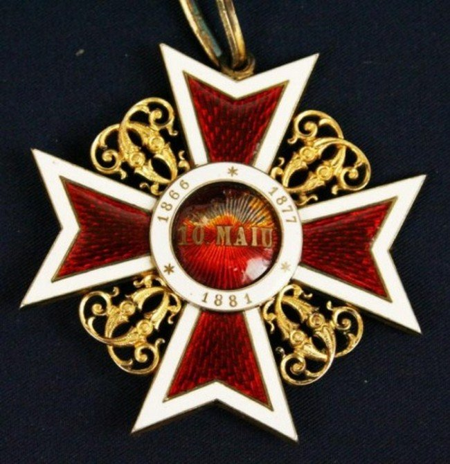 AUSTRIAN ORDER OF LEOPOLD KNIGHTS CROSS 1881 - 2