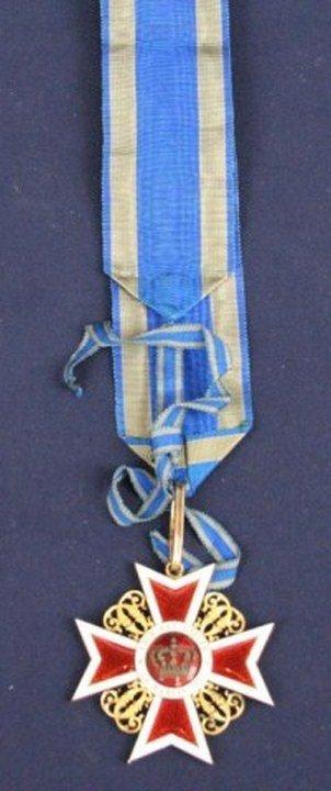 AUSTRIAN ORDER OF LEOPOLD KNIGHTS CROSS 1881 - 3