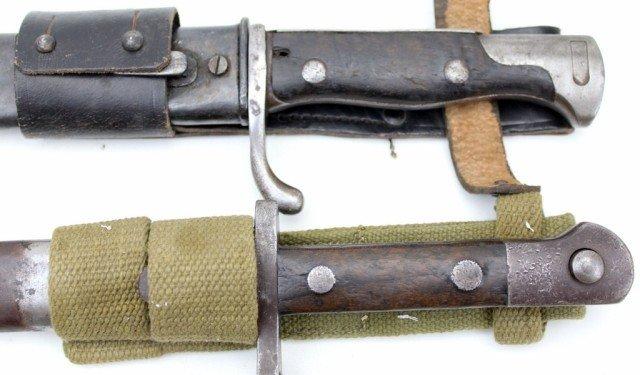 LOT OF 4 MAUSER BAYONETS WW1-WW2 - 3