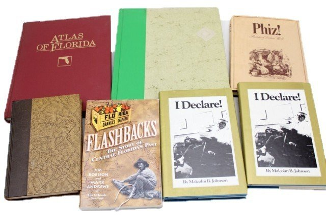 LOT OF VARIOUS FLORIDA HISTORY BOOKS & MORE
