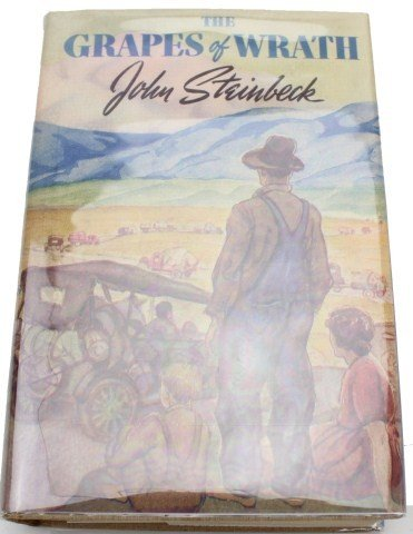 the joads family struggles in the novel the grapes of wrath by john steinbeck The grapes of wrath is a novel by john steinbeck that exposes the desperate conditions under which the migratory farm families of america during the 1930's live under the novel tells of one families migration west to california through the great economic depression of the 1930's.