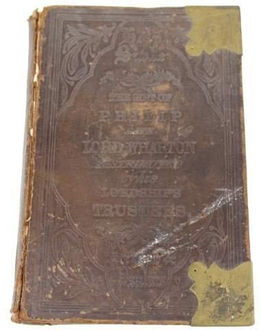 1867 LORD WHARTON HOLY BIBLE