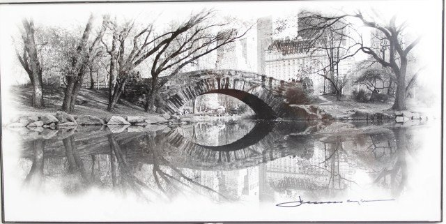 PHOTO OF CENTRAL PARK-SIGNED