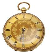 18K GOLD POCKET WATCH BY BAUME GENEVE C.1850