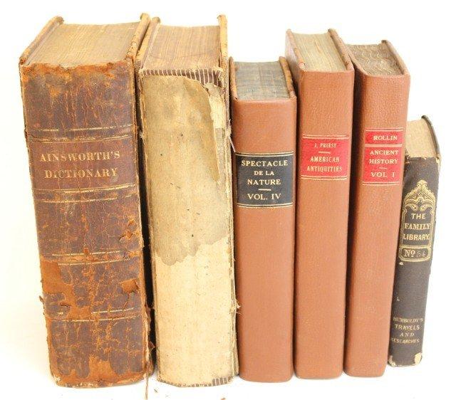 18TH & 19TH CENTURY BOOKS