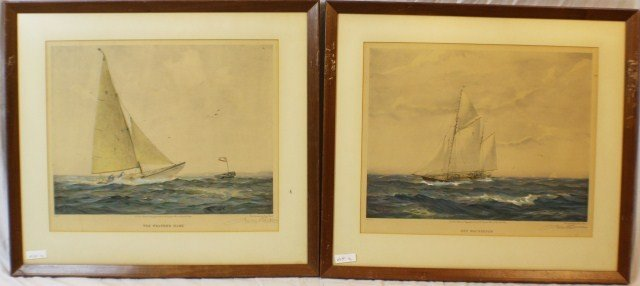 GORDON GRANT - PAIR OF SIGNED LITHOGRAPHS
