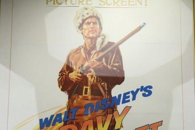 WALT DISNEY'S 1955 DAVY CROCKETT MOVIE POSTER - 2