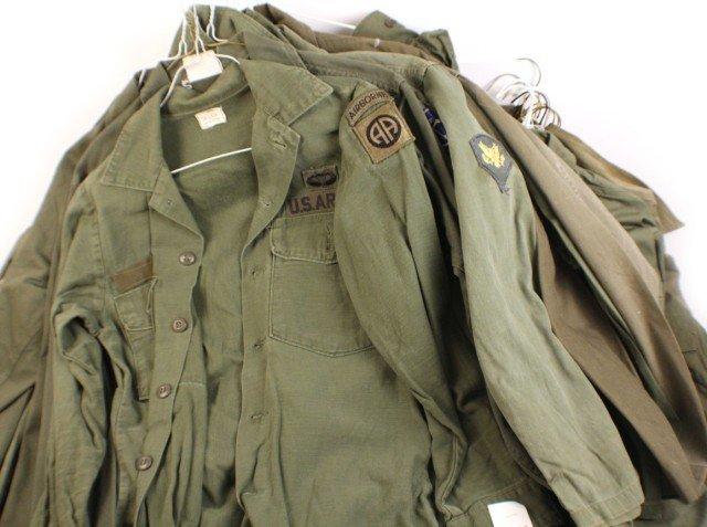 UNIFORM - MIXED LOT OF 49 USMC SHIRTS