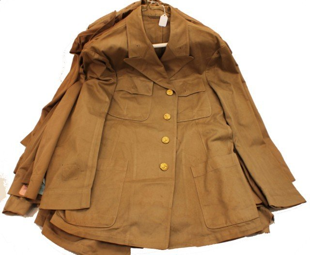 UNIFORM - MIXED SELECTION OF 10 TROPICAL ARMY JACK
