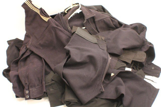 UNIFORM - US NAVY DRESS BLUES WOOL SHIRTS & PANTS