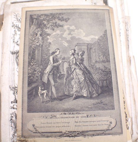 BOOK OF 75+ 18TH AND 19TH CENTURY ENGRAVINGS