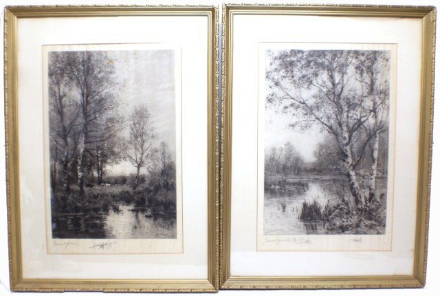 2 JAMES EDWARD GRACE ETCHINGS