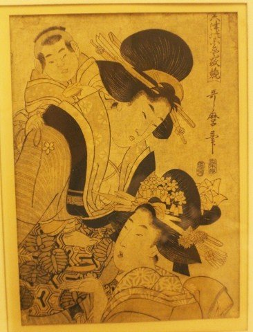 PAIR OF JAPANESE WOODBLOCK PRINTS - 3