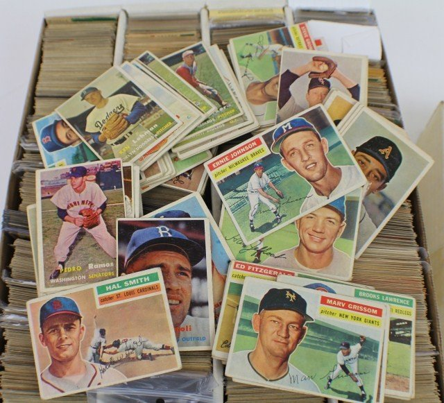 UNSEARCHED GROUP OF 1950-60'S BASEBALL CARDS