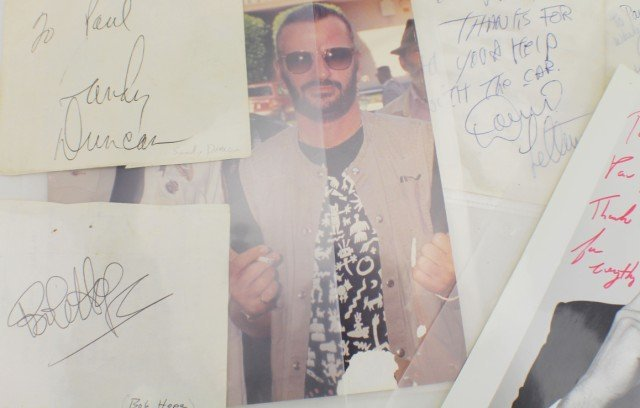 THE TONIGHT SHOW AUTOGRAPH AND MEMORABILLIA LOT - 4