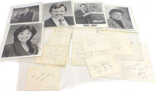 THE TONIGHT SHOW AUTOGRAPH AND MEMORABILLIA LOT - 5
